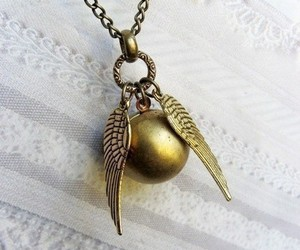 harry potter, necklace, and jewelry image