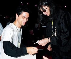 joey ramone, billie joe armstrong, and green day image