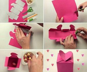 diy, box, and heart image