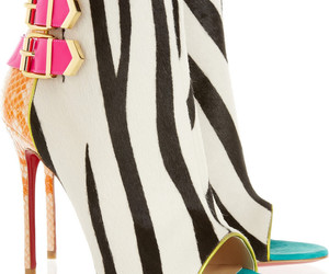 bag, high heels, and shoes image