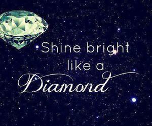 diamonds, stars, and rihanna image