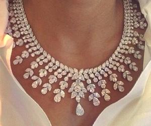 necklace, diamond, and jewelry image