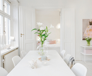 interior, style, and white image