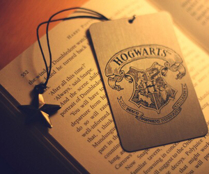 book, star, and harry potter image