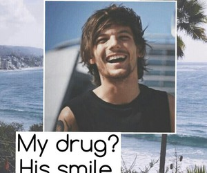 louis, smile, and tomlinson image