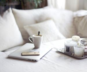 coffee, white, and interior image