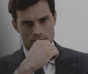 grey, fifty shades of grey, and Jamie Dornan image