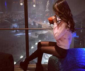 girl, brunette, and luxury image