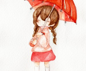 kawaii, traditional art, and yume nikki image