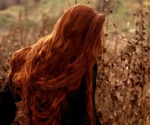 redhead, ginger, and hair image