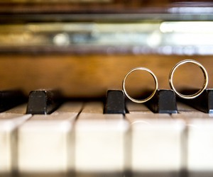 music, piano, and rings image