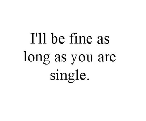 single, love, and quote image