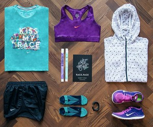 fit, nike, and race image