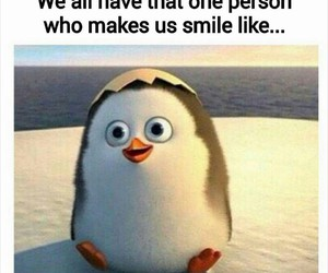 cute, penguin, and smile image