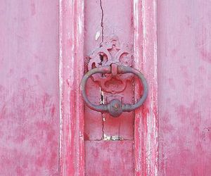 pink, door, and provence image