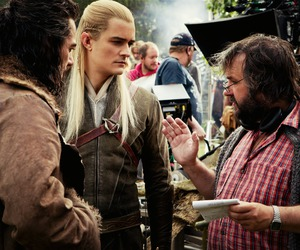 the hobbit, Legolas, and bard image