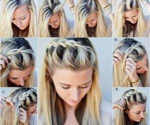 braids, hairstyle, and rabies image