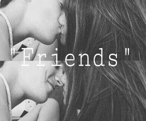 just, kiss, and friends image