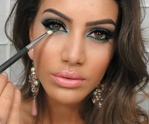 makeup, beauty, and camila coelho image