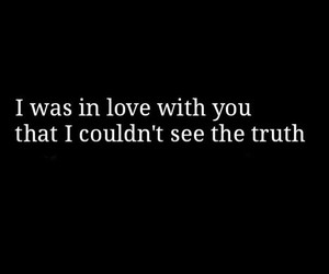 love, black and white, and truth image