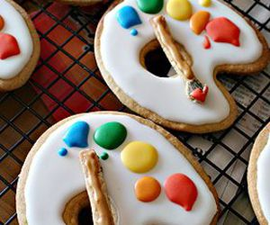 Cookies, food, and art image