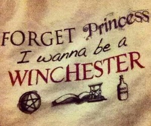 supernatural, winchester, and princess image
