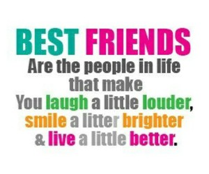 best friends, friends, and laugh image