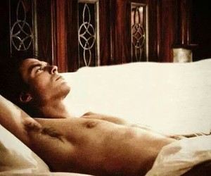 actor, bed, and guy image