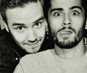 liam payne, one direction, and zayn malik image