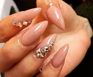 decoration, pale, and nail art image