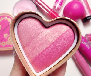 heart, pink, and beauty image