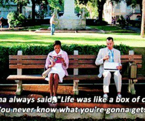 forrest gump, quote, and tom hanks image