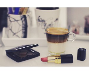 beauty, chanel, and coffee image