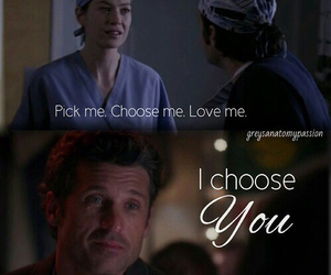 patrick dempsey, grey's anatomy, and love image