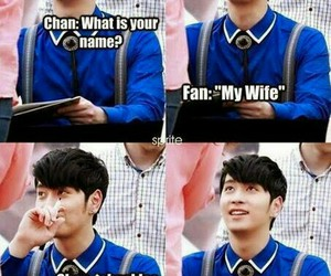 2PM, chansung, and funny image