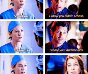 couple, merder, and meredith grey image