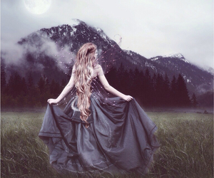 dress, enchanted, and mythical image