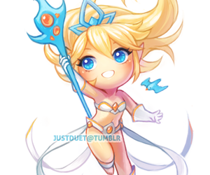 lol, janna, and league of legends image