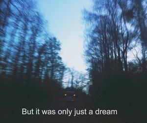 lyric and just a dream image