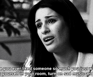 glee, quotes, and sad image