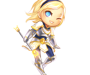 lol, lux, and league of legends image