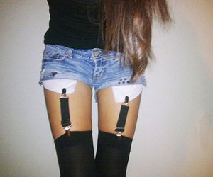 shorts and legs image