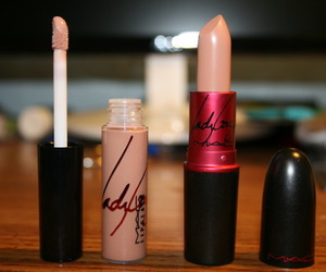 lipstick, mac, and Lady gaga image