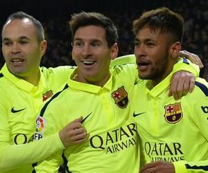 Barcelona, messi, and neymar jr image