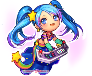 lol, sona, and league of legends image