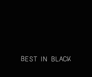 Best, black, and dark image
