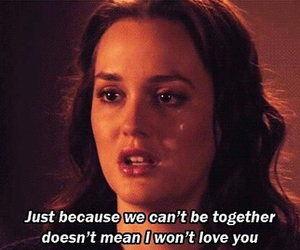 love, gossip girl, and blair waldorf image