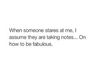 fabulous, funny, and notes image