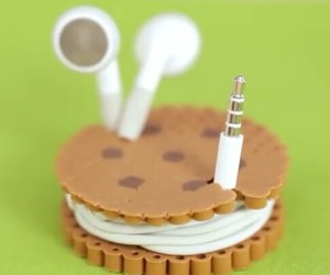 Cookies, cool, and earbuds image