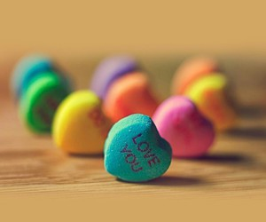 colorful, sweet, and love image